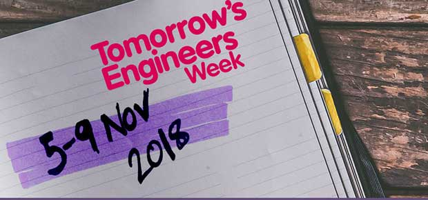 Save the date for Tomorrow's Engineers Week 2018