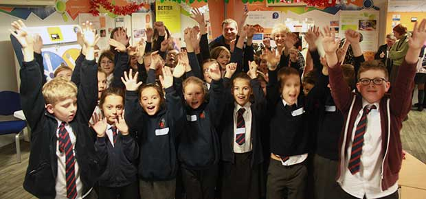 Dungeness B's first-ever Science Show a mega-success with schools